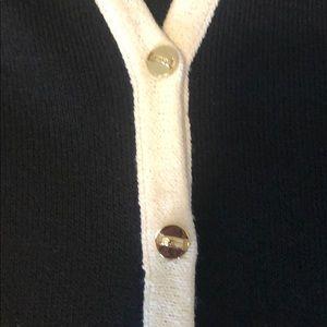 St. John Tops - St John Black White Stripe Knit Set 6 Small